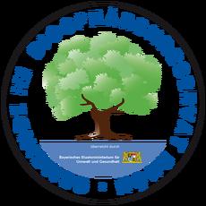 Gemeinde im Biosphärenreservat Rhön Plakette rund