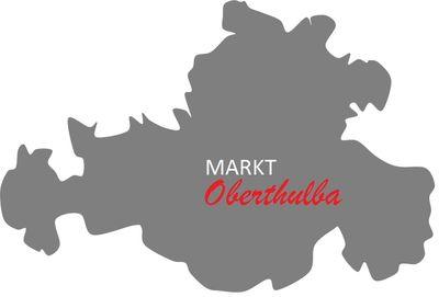 Umriss Markt Oberthulba
