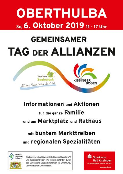 Tag der Allianzen Plakat